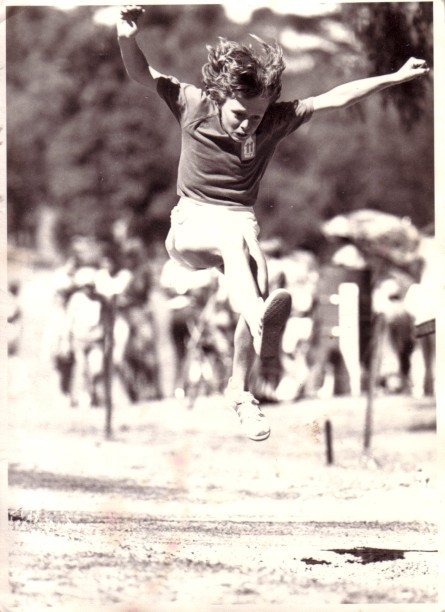 Little Athletics at Ballam Park, Frankston. March 1, 1975