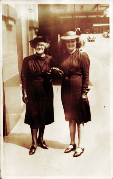Mary Jane Sweet and her daughter Margaret Jeannie Campbell. Mary Jane Sweet (my great-grandmother) was born