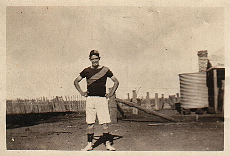 Grandpa (Norman McLean Campbell), 17 years old.